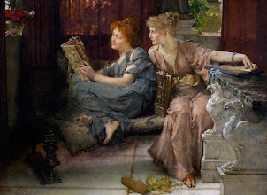 "Photo: Lawrence Alma-Tadema, ""Comparisons"" (1892)"