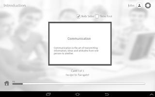 Screenshot of Learn Communication Skills
