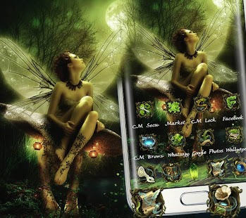 Butterfly Fairy Nature Theme - náhled