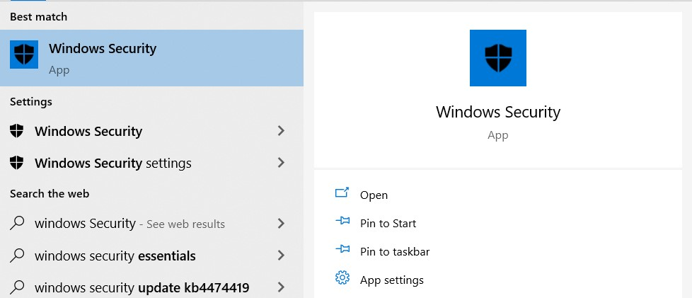 Search Result for Windows Securities