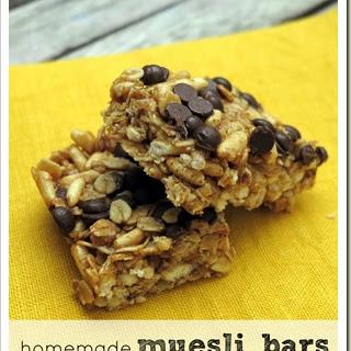 Homemade Muesli Bars {Gluten, Nut and Dairy Free} Recipe