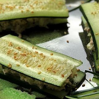 Cucumber Tuna Sandwiches Recipe
