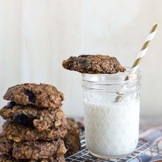 One Bowl Blueberry Oatmeal Breakfast Cookies {vegan, Gluten-free}.