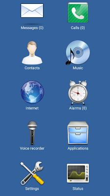 Blind Communicator - screenshot