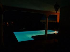 Photo: piscine gîte Belziguane