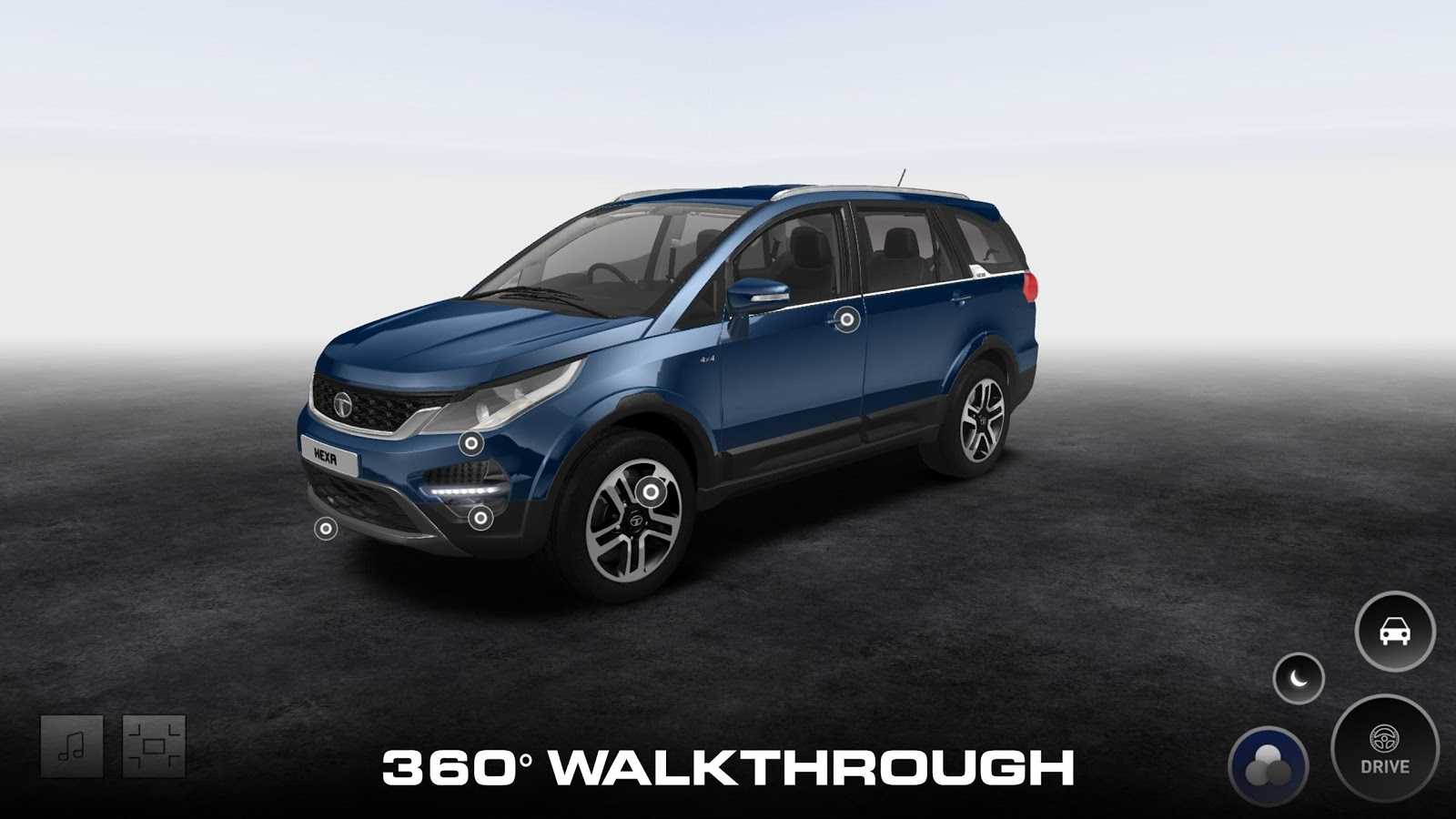 TATA HEXA- screenshot