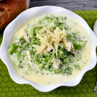 Cheesy Chicken And Broccoli Chowder