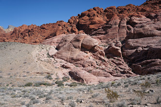 Photo: Along the Scenic Drive: Calico Rocks