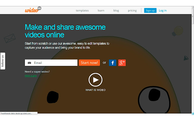 wideo co make videos online chrome web store