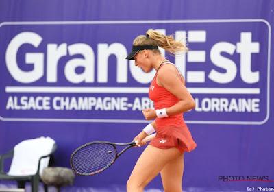 Yastremska houdt Garcia van eindwinst in Strasbourg