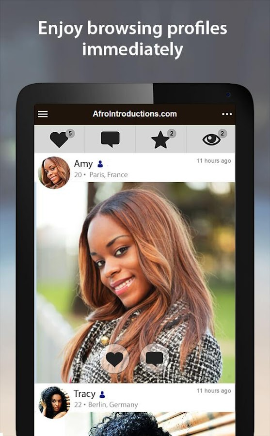 AfroIntroductions - African Dating App- screenshot