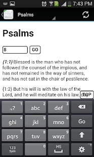 Catholic Bible: Lite Version- screenshot thumbnail
