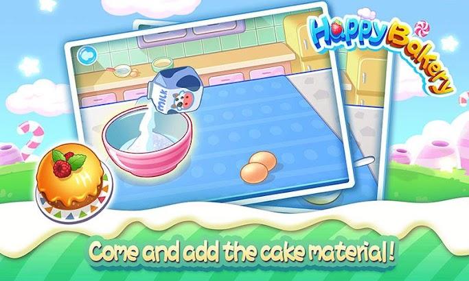 Happy BakeryFunny Kids Game- screenshot thumbnail