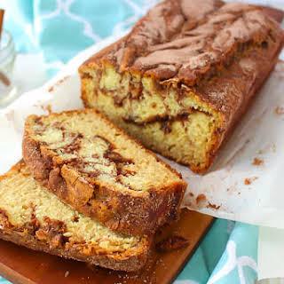 Cinnamon Sugar Quick Bread.