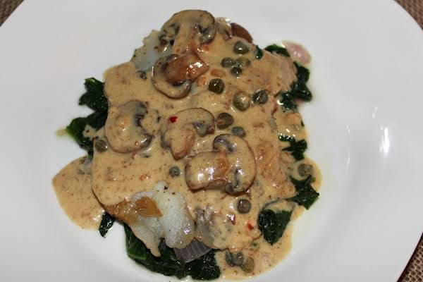 Tilapia In Mustard Cream Sauce Recipe