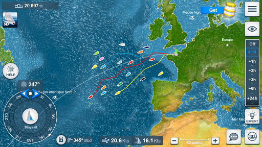 Virtual Regatta Offshore  captures d'écran 2