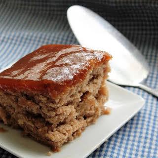 Cinnamon Pudding Cake.