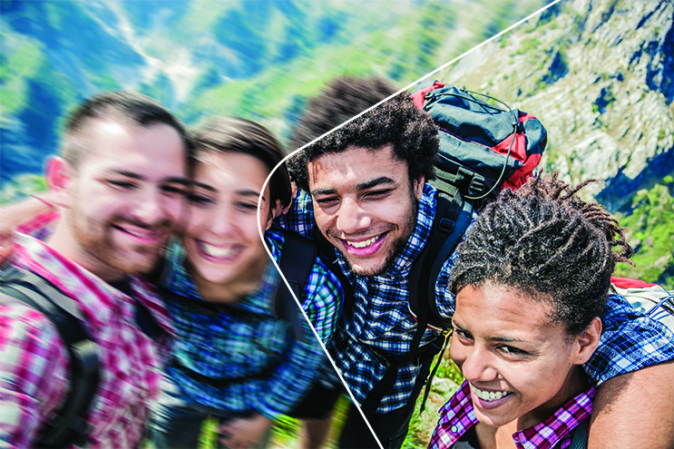 Adobe Photoshop Elements lets you capture photos now and perfect them through editing later