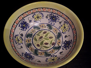Photo: Floral Bowl Yellow