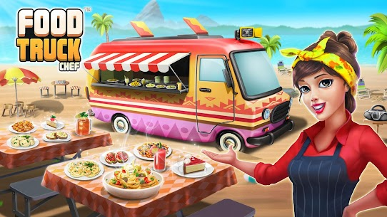 Food Truck Chef™ 🍕Cooking Games 🌮Delicious Diner Mod 1.8.0 Apk [Unlimited Gold] 1