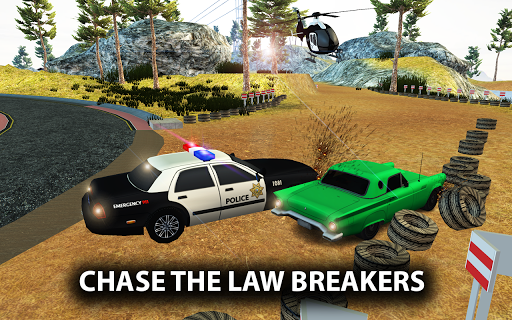 Police Car Gangster Chase - Vegas Crime Escape Sim 1.3 screenshots 2