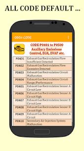 OBD2 Codes Check Engine 3