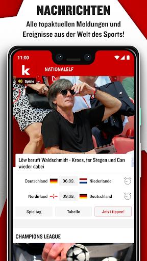 kicker Fußball News 6.6.0 screenshots 1