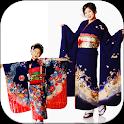 kimono dress icon