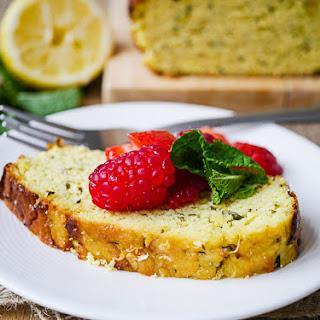 Almond Flour Lemon Zucchini Loaf Cake