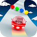Space Road: color ball game icon