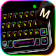Neon Flash Keyboard Theme Apk