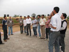 "Photo: A shouting exercise... We shouted the slogan - ""Haklao Magar Pyar Se..."""