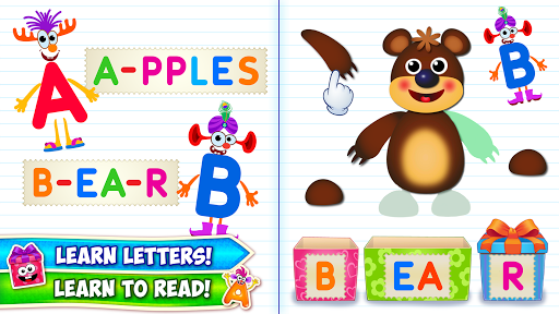 Baby ABC in box! Kids alphabet games for toddlers 2.0.3.4 screenshots 1