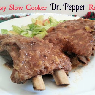 Slow Cooker Dr. Pepper Ribs Recipe