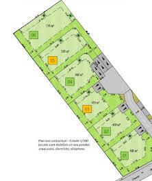 Terrain 500 m2