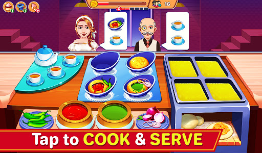 Indian Cooking Madness - Restaurant Cooking Games apkmr screenshots 3