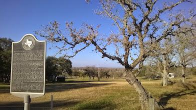Photo: THC marker for Mission Espiritu Santo Cattle Ranch (1720's),  Victoria, Lat. 28.87N, Long. -97.13, 1/19/15