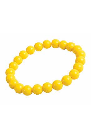 Pop Art armband, gult