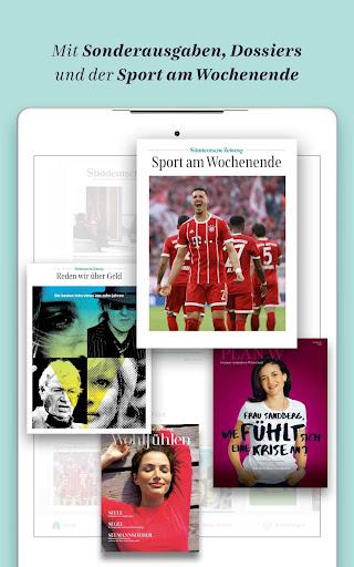 Süddeutsche Zeitung Zeitungsapp 4.1 screenshots 12