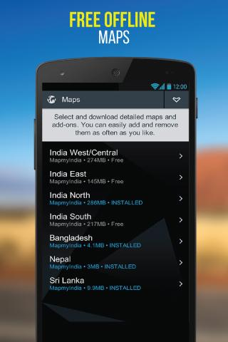NaviMaps: 3D GPS Navigation 3.0.3 Screenshots 6
