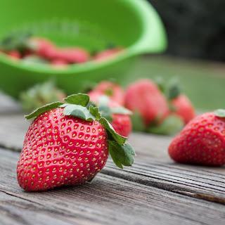 Strawberry Breakfast Smoothie.