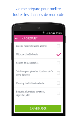Tabac info service, l'appli - screenshot