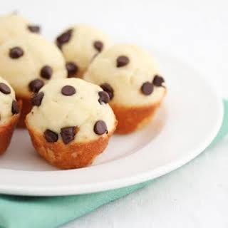 Mini Chocolate Chip Pancake Muffins.