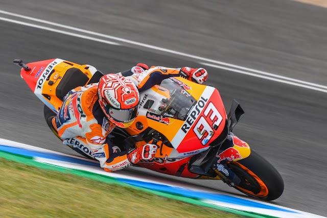 Márquez saldrá desde la tercera posición