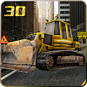 City Road Construction Crane icon