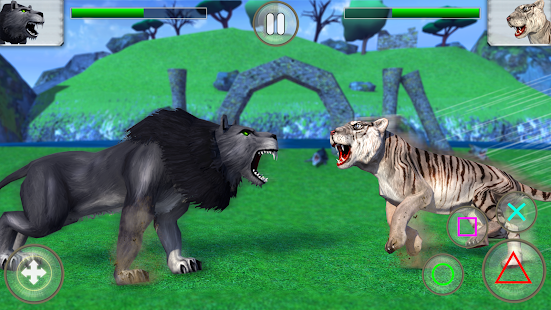 Big Cat Fighting Simulator 2018: Angry Wild Beasts - náhled
