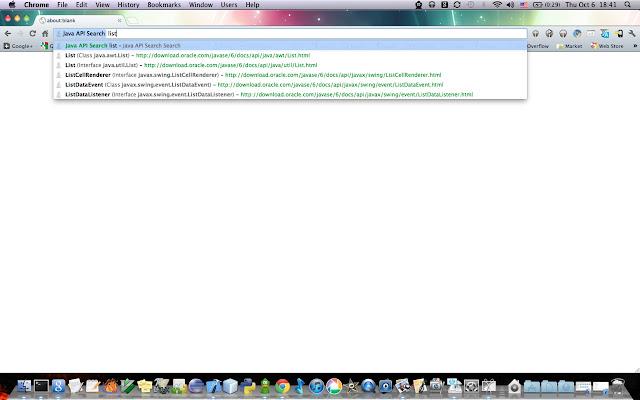 Java API Search