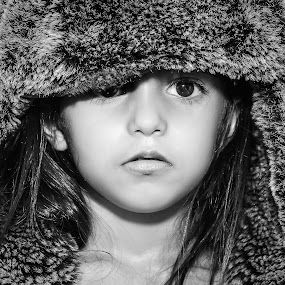 by Nathalie Gemy - Babies & Children Children Candids ( funny face, black and white, child photography, children candids, child portrait, children )