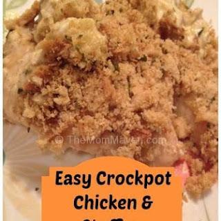 Easy Recipes- Crockpot Chicken & Stuffing.