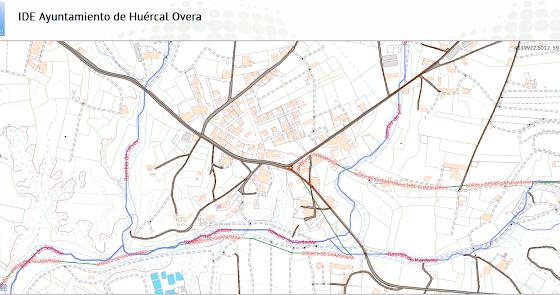 Huércal-Overa actualiza el visor del inventario de caminos rurales